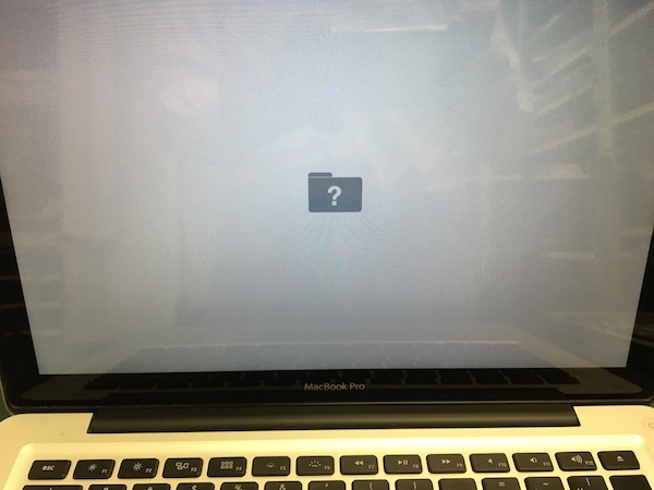 MacBook Pro HDD故障