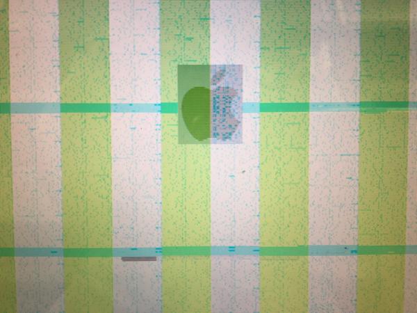 グラフィックチップ 故障画面