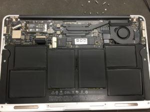 バッテリー交換 MacBook Air 1